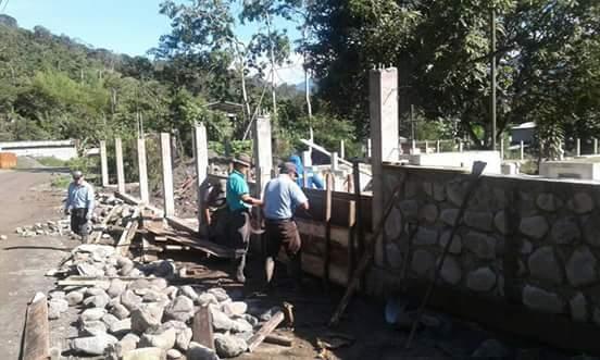 CONSTRUCCION DE CERRAMIENTO CEMENTERIO GENERAL.
